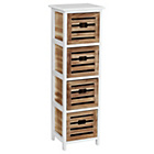 more details on Premier Housewares Portsmouth 4 Drawer Stroage Chest.