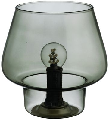 Buy habitat constanza glass table lamp at for Table lamps argos