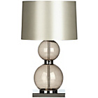 more details on Smoked Glass and Chrome Ball Design Table Lamp.