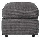 more details on HOME Barney Footstool - Charcoal.