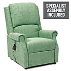 more details on Chicago Riser Recliner Chair with Single Motor - Green.