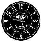more details on Old Town Glass Wall Clock.