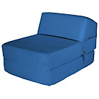more details on ColourMatch Single Cotton Chairbed - Marina Blue.