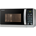 more details on Sharp R662SLM Microwave with Grill - Silver.