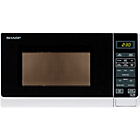 more details on Sharp R272WM 20L Solo Microwave - White.