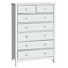 more details on Collection Grafton 5 + 2 Drawer Chest - White.