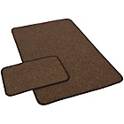 more details on York Twist Runner and Doormat - Chocolate.