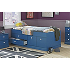 more details on Stowe Single Cabin Bed with Drawers - Blue.