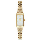 more details on Accurist Ladies Rectangle Case Gold Plated Slim Watch.
