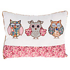 more details on Country Baskets THree Wise Owls Cushion - 30x40cm.