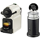 more details on Nespresso Inissia & Aeroccino 3 Coffee Machine - White