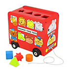 more details on Orange Tree toy Bus Shape Sorter.