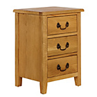more details on Heart of House Cheshire 3 Drawer Bedside Chest.