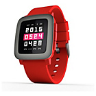 more details on Pebble Time Fitness Smartwatch - Red.