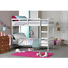 more details on Josie Bunk Bed with Single Bibby Mattress -  White.