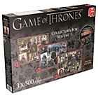 more details on Game of Thrones 3x500 Piece Collectors Box Puzzle - Vol 1.