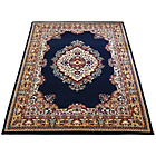 more details on Melrose Maestro Traditional Rug - 80x150cm - Navy.