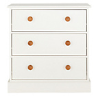 more details on Stowe 3 Drawer Chest - Cream