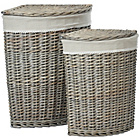 more details on Premier Housewares Mesa Set of 2 Corner Laundry Baskets.