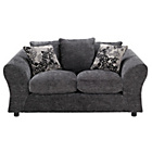 more details on Clara Regular Fabric Sofa - Charcoal.