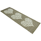 more details on Melrose County Your Heart Runner - 67x200cm - Taupe.