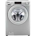 more details on Candy GV168T3S 8KG 1600 Spin Washing Machine- Silver/Exp Del