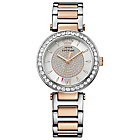 more details on Juicy Couture Ladies' Two Tone Stone Set Bracelet Watch.