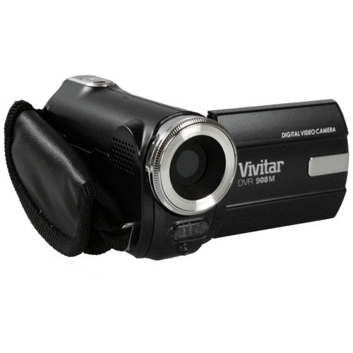 Vivitar DVR908M 9.1MP 720p HD Ultra Compact Digital Camcorder - Black