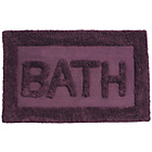 more details on Premier Housewares Purple Cotton Bath Mat.