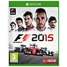 more details on F1 2015 Xbox One Game.
