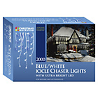 more details on The Christmas Workshop 2000 LED Icicle Chaser Lights.