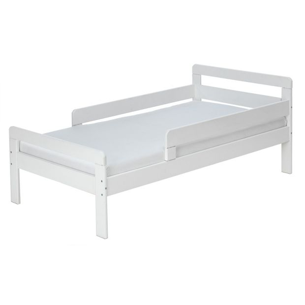 buy home ellis toddler bed frame white at. Black Bedroom Furniture Sets. Home Design Ideas