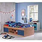 more details on Malibu Blue on Pine Cabin Bed Frame with Bibby Mattress.
