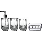 more details on Premier Housewares Cristallo Plastic 4 Piece Bathroom Set.