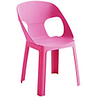 more details on Habitat Darla Plastic Kids Chair - Pink.
