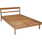 more details on Habitat Tatsuma Double Bed Frame - Ash.