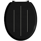 more details on Premier Housewares Black Diamante Toilet Seat.