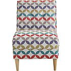 more details on Armless Chair Geometric Print.