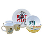 more details on Eat Out 16 Piece 4 Person Melamine Set.