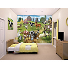 more details on Walltastic Farmyard Fun Wallpaper Mural.