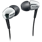 more details on Philips SHE3900 In-Ear Headphones - Silver.