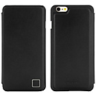 more details on Leather Folio iPhone 6 Plus Case - Black