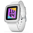 more details on Pebble Time Fitness Smartwatch - White.