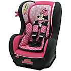more details on Disney Minnie Mouse Cosmo SP Group 0 Plus and 1 Car Seat.