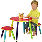 more details on Pencil Table and 2 Chairs.