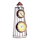 more details on Bliss Metal Tower Clock and Thermometer.