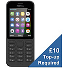 more details on Virgin Nokia 215 Mobile Phone - Black.