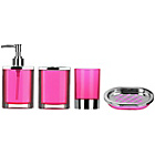 more details on Premier Housewares Pink 4 Piece Bathroom Set.