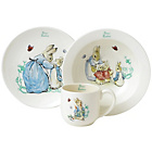more details on Beatrix Potter Peter Rabbit Three Piece Nursery Set.