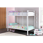 more details on Boltzero Metal Single Bunk Bed Frame - White.